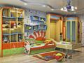 """детская (№ ДОК-5) универсальная: для двоих детей в возрасте от 2 до 10 лет. Похожую детскую Вы можете приобрести в готовой или частичной комплектации (см. раздел """"готовые комплекты для детской"""")."""