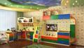универсальная детская комната для двоих детей 3-14 лет (2ДМ-34, ракурс 1)