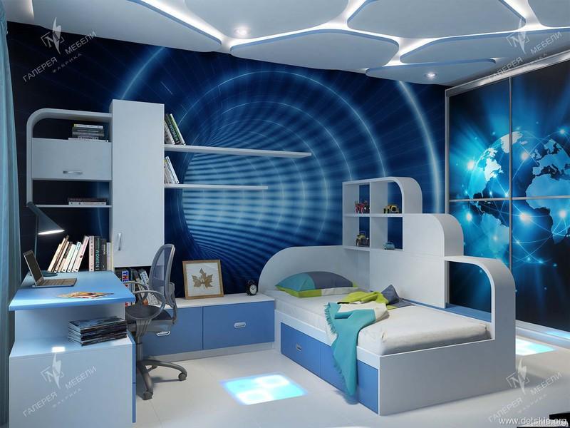 Детская комната и детская мебель для мальчика на заказ