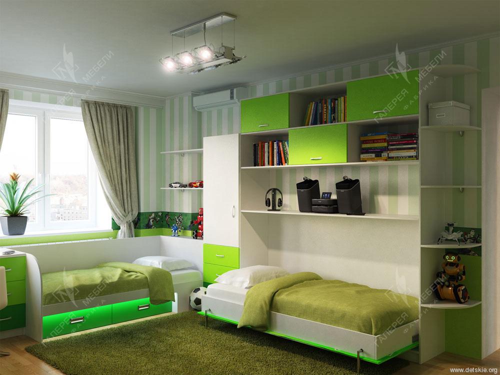 Мебель для комнаты мальчика подростка (подростковая мебель д.