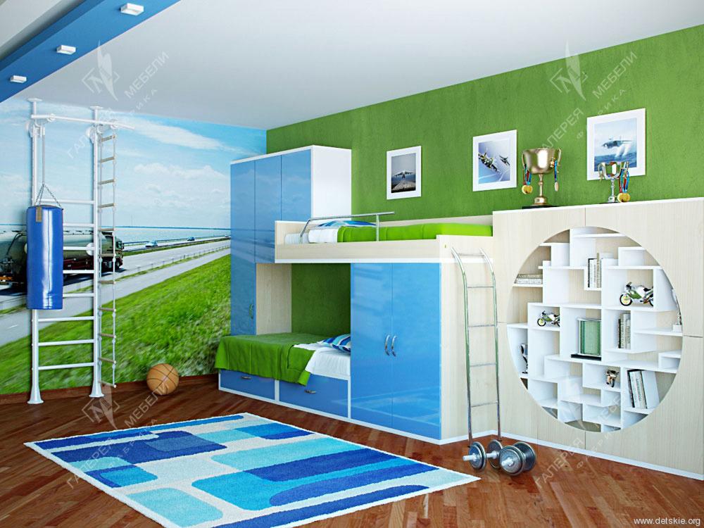 Дизайн одной комнаты для родителей и детей