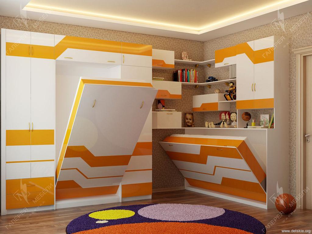 Дизайн детской комнаты трансформер.