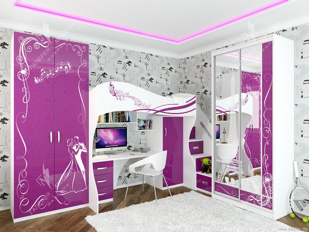 фото мебель для девочки