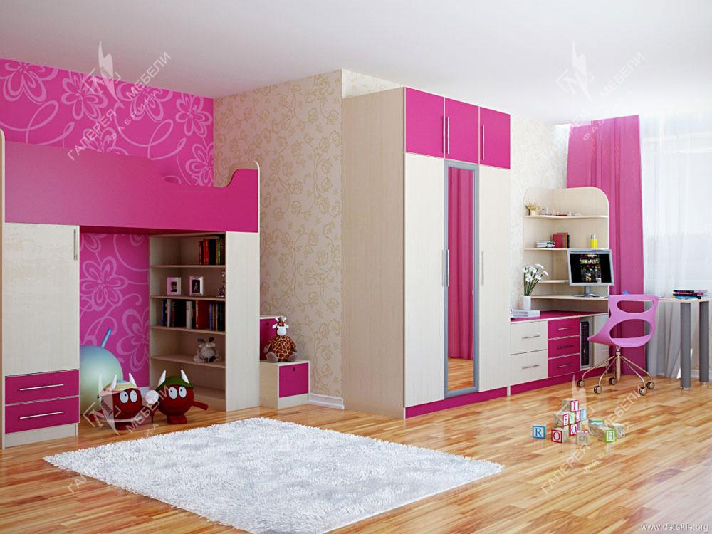Детская мебель для девочки. мебель для детской комнаты девоч.