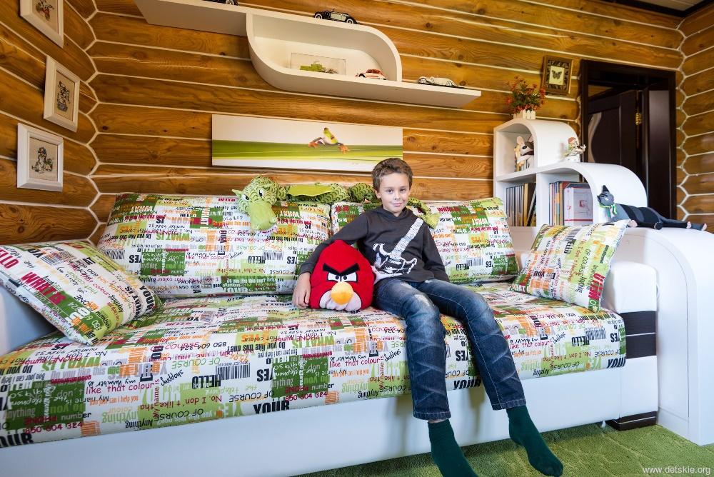Дизайн комнаты для мальчиков-подростков на двоих 19