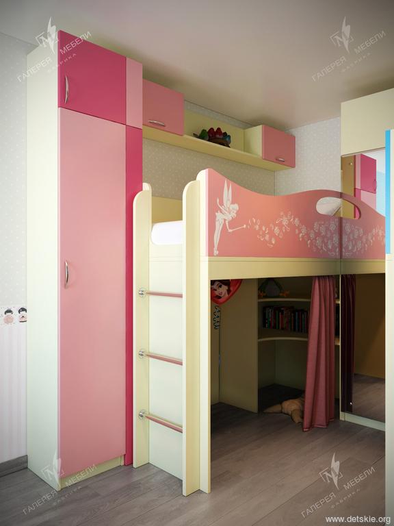 20c70723af68 Детская мебель в комнату для двоих разнополых детей. Детская комната ...