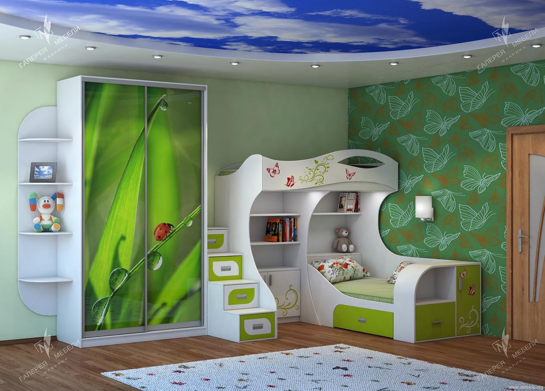 Детская комната для двоих детей: командное путешествие - зам.