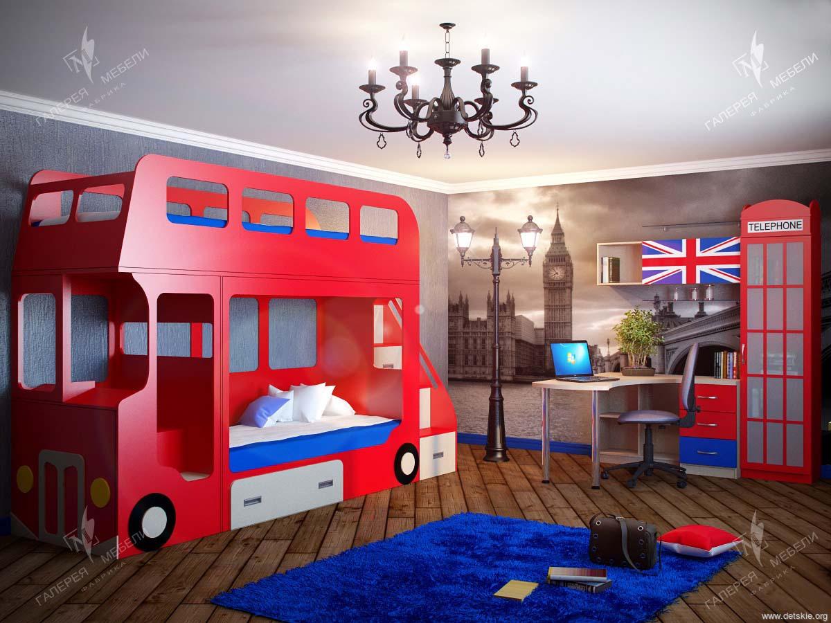 Детская в стиле лондон фото