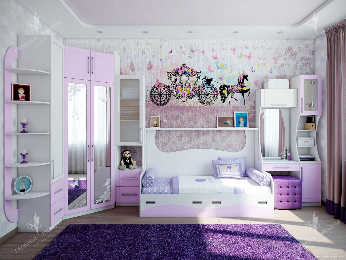Идеальная детская комната для двух девочек: выбираем Дизайн интерьеров комнат для двух девочек