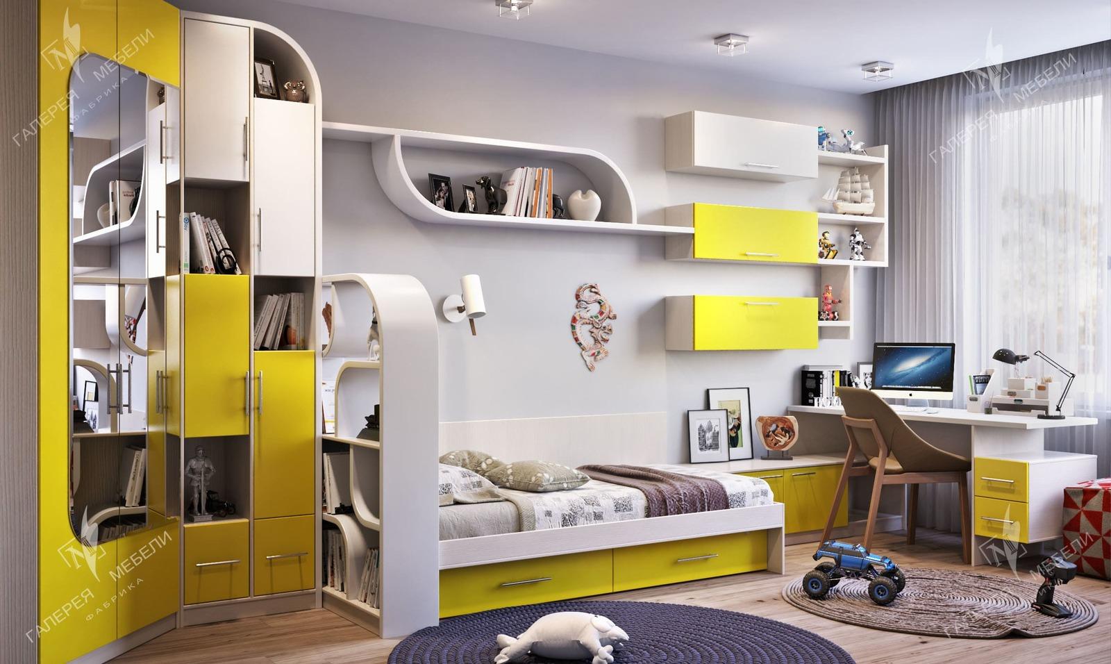 Детская комната для мальчика 10 лет